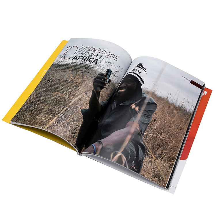 Custom Printing Magazine With Cheap Price
