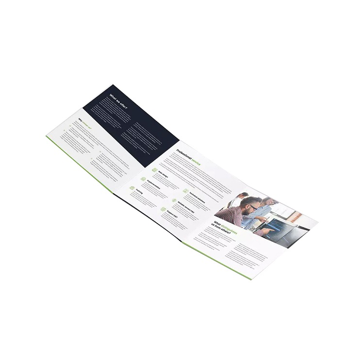 Hot Selling Brochure Card Catalogue Printing Wholesale Flyer Printing Brochure