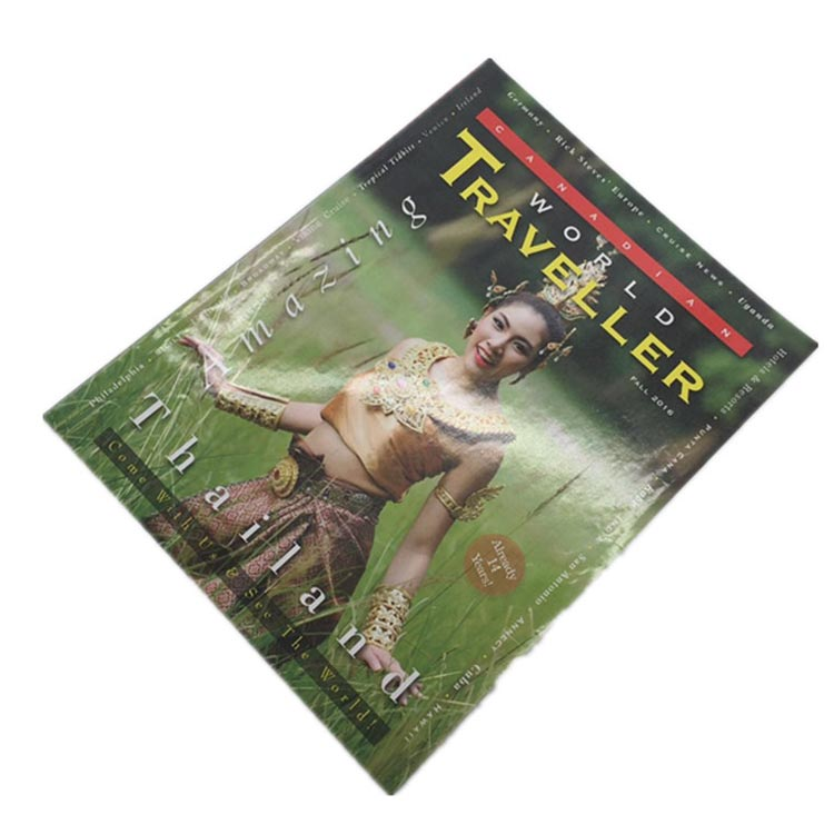 China Supplier Met Art Magazine Printing With Your Size