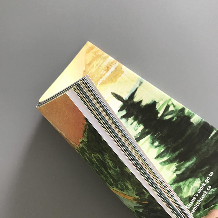 Customized Logo Magazine Printing Paper With Lamination
