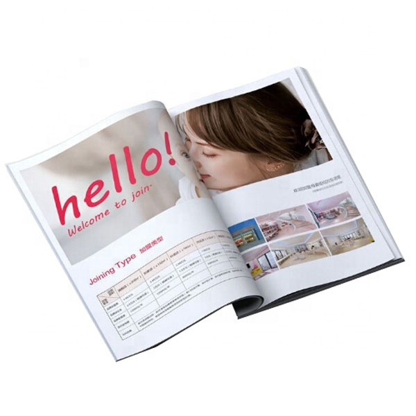Recyclable Newsprint Magazine Printing China Manufacturer