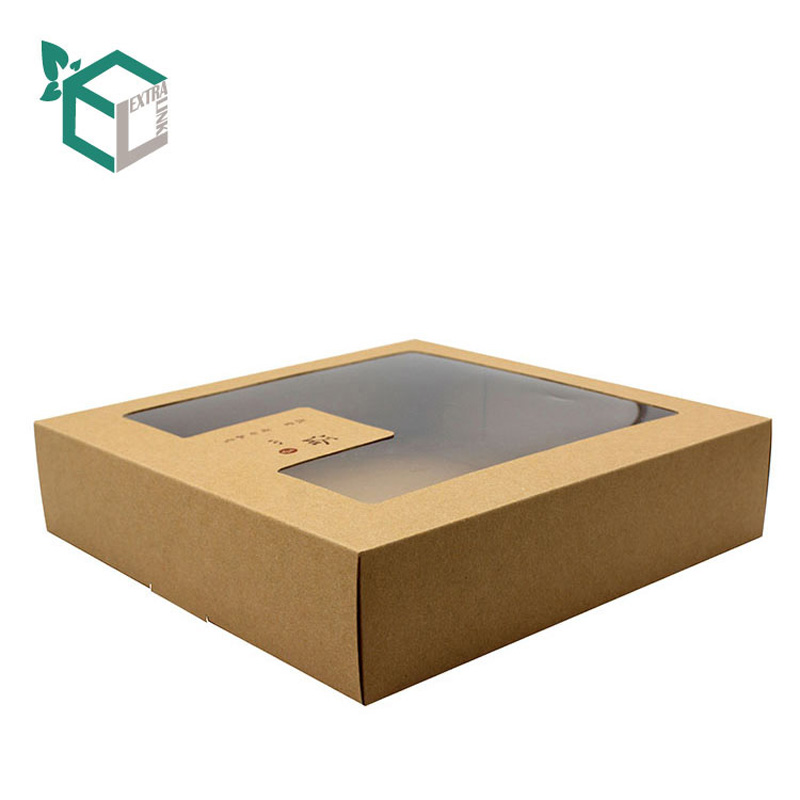 Wholesale Price Kraft Paper Window Display Soap Packing Box