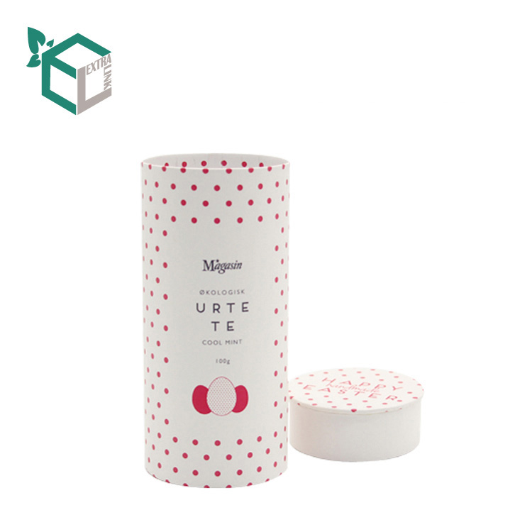 White Kraft Material Environmental Perfume Paper Tube
