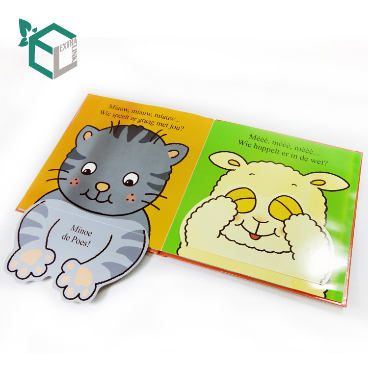 China Custom Laminated Luxury Baby Educational Book