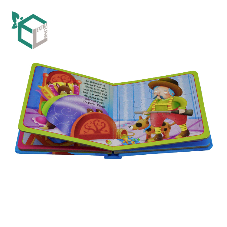 Custom Paper Board Preschool Printing Baby Talking Book