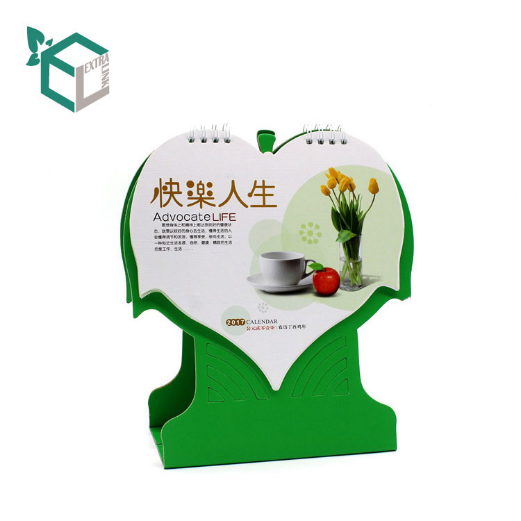 Recyclable Desk Calendar China Printing Service