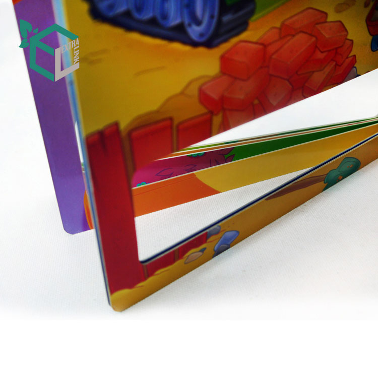 Paperboard Product Material Children Board Book Printing