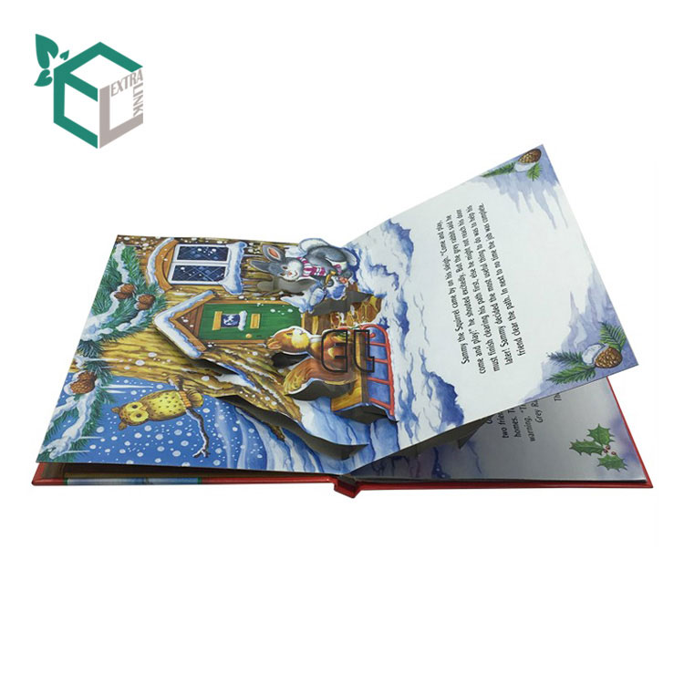 China Custom Laminated Luxury Hardcover Children Islamic Book