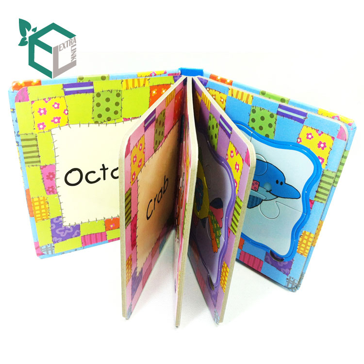 Luxury Custom Colorful Puzzle Book Printing For Children