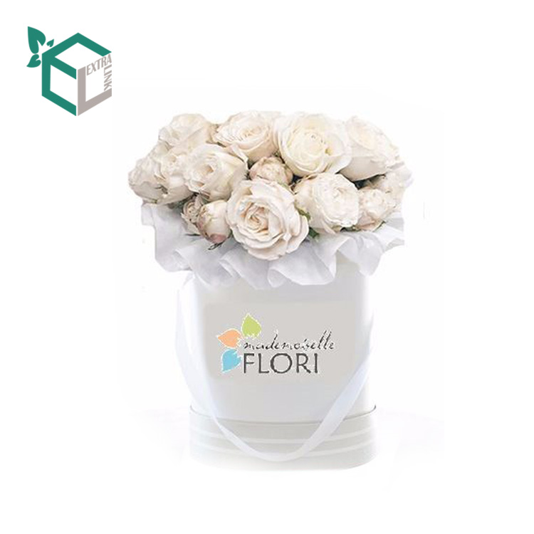 Tube Flower Paper Packing Box All Details Can Be Customized