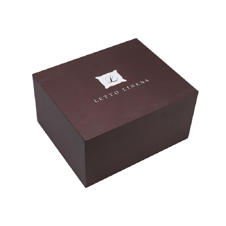 Custom Luxury Square Art Paper Cardboard Box Beret Cap Baseball Cap Box