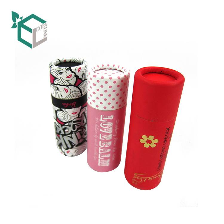 Small Size Full Color Oem Design Packaging Boxes Lip Gloss Tubes