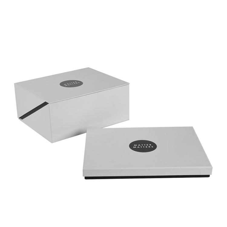 White Customized Gift Box Clothes Shoe Packaging Paper Hat Box