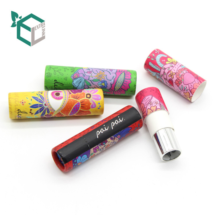 Wholesale Paper Lipstick Tube Box Cosmetics Makeup Packaging Box