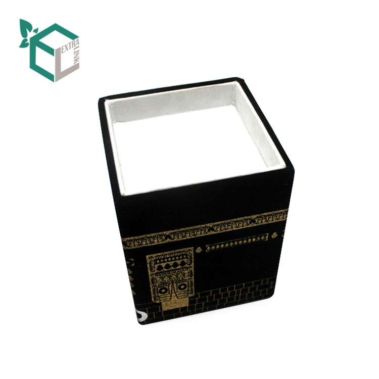 Custom Decorative Luxury Cloth Paper Perfume Packaging Box