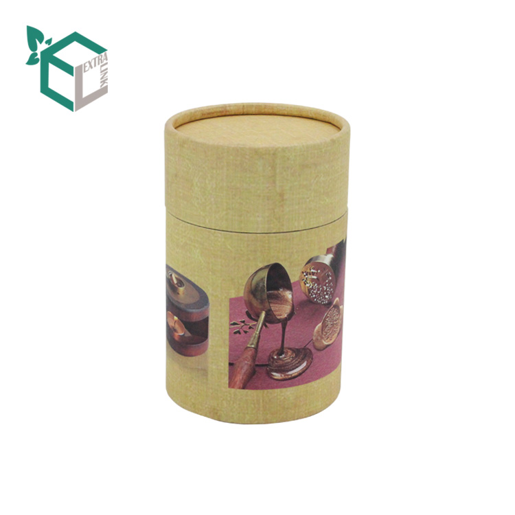 Food Grade Chocolate Use Printing Paper Tube Packaging