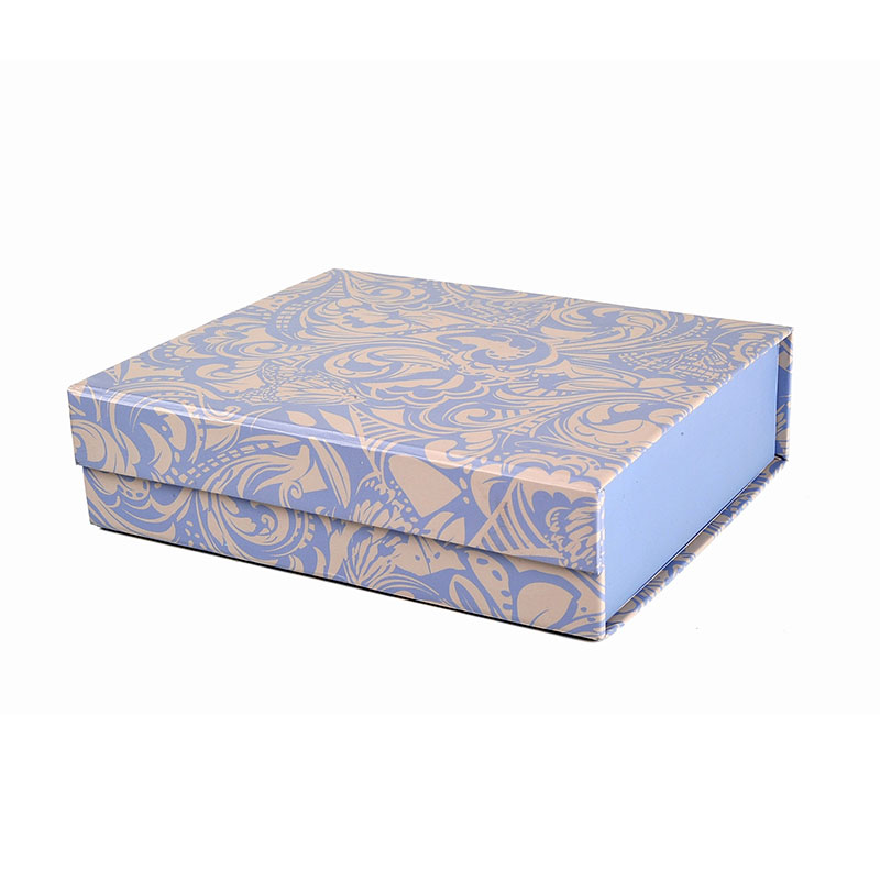 Lunch Kids Toy Storage Paper Foldable Gift Box with Ribbon