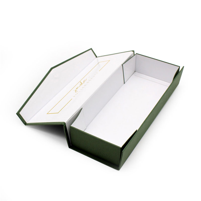 Elegant Handmade Custom Magnetic Packaging Foldable Jewelry Box