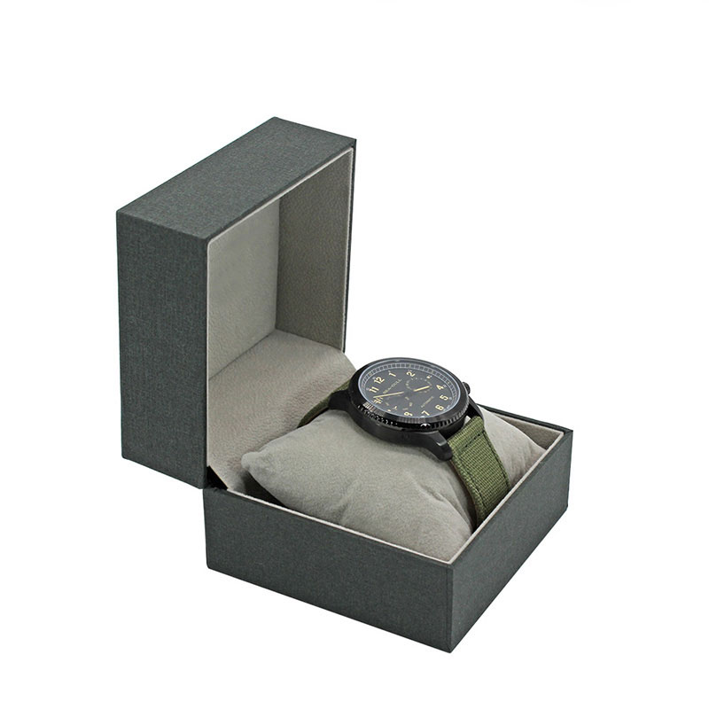 Factory Price with Pillow Display Design Your Own Watch Strap Box