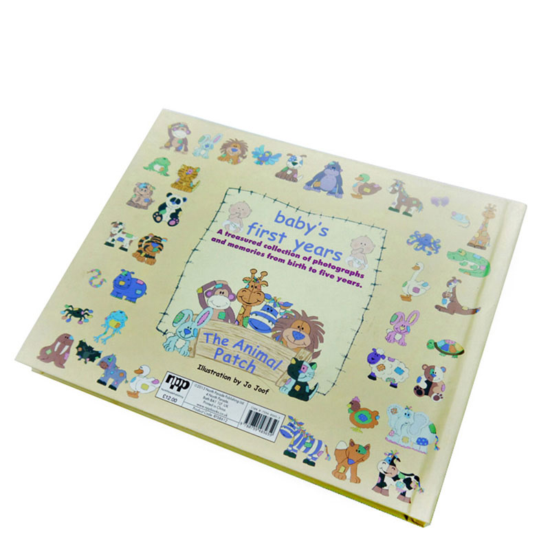 China Factory Design Cardboard Paper Story Children Board Book Printing