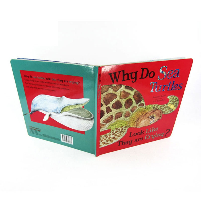 Factory Supplier Custom Paper Activity Story Softcover Book Printing