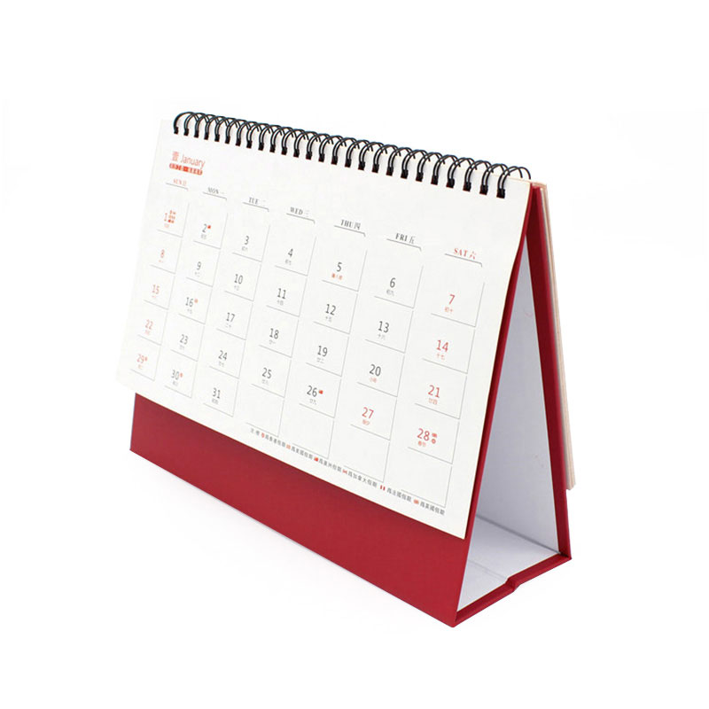 Custom Personalised China Logo Paper Wall Calendar Printing