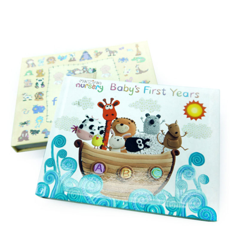 Customized Printing Services Shower Hardcover English Baby Bath Book