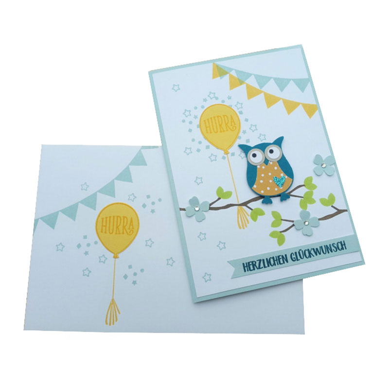 New Design Products Factory Price Creative Paper Gift Card Printing