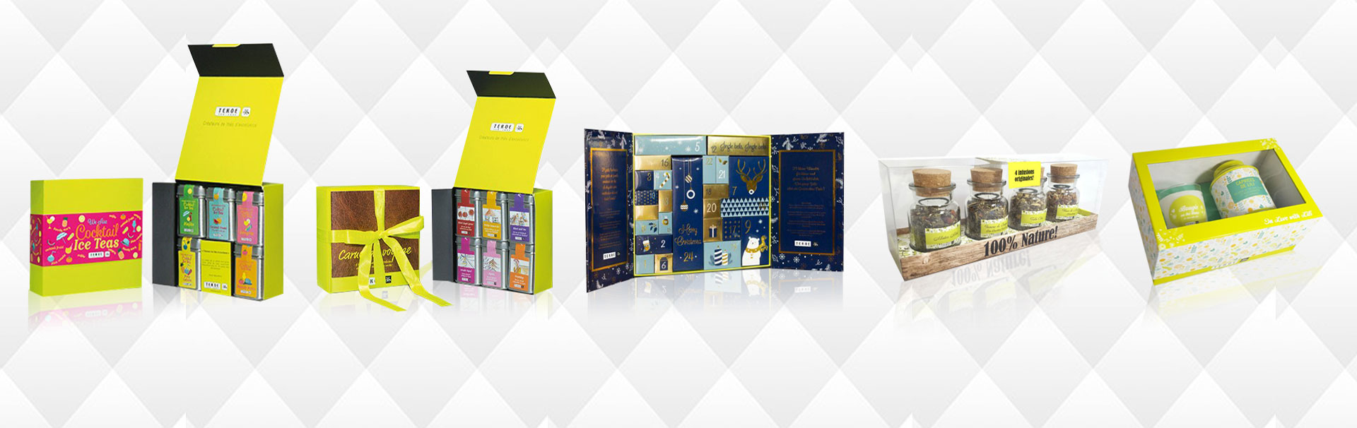 Delicate Tea Package Combo for Euro-Market