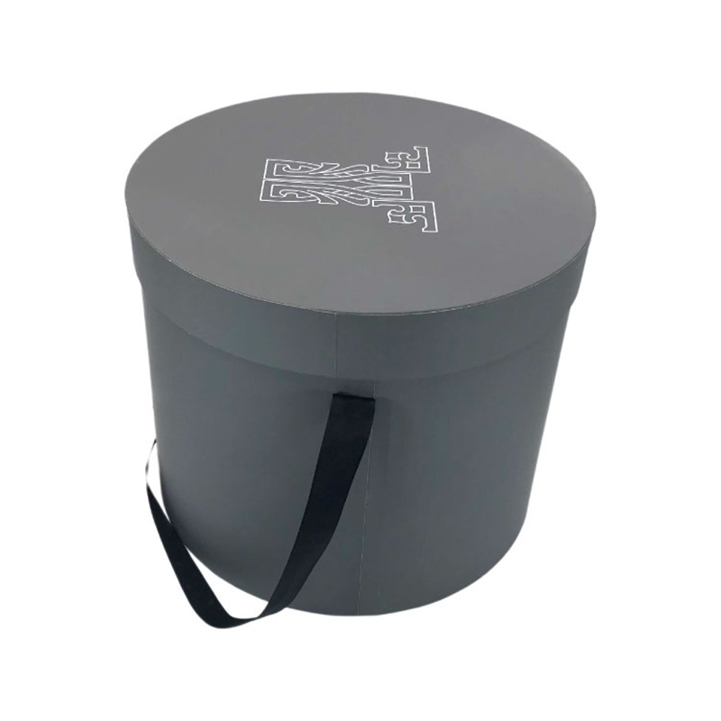 Custom Preserved Eco Friendly Paper Round Flower Packaging Box