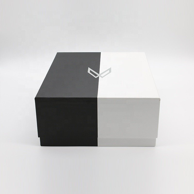Custom design Shoe Paper Printed Cardboard 2 Pieces Shoe Boxes For Packaging Box