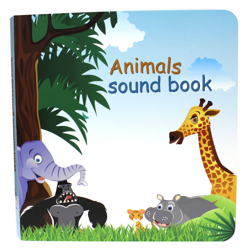 Custom Printing Sound Book Animal Sound Books For Babies