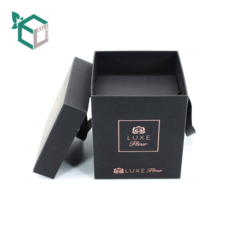 Eco-Friendly Square Flower Box With Insert