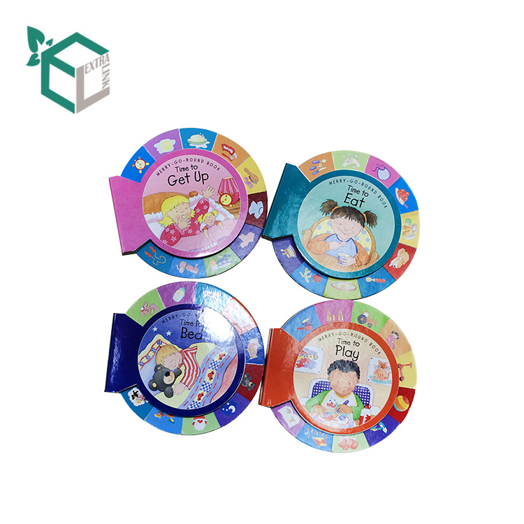 Cheap Unique Color Round Pamphlet Leaflet Flyer Booklet Brochure Printing