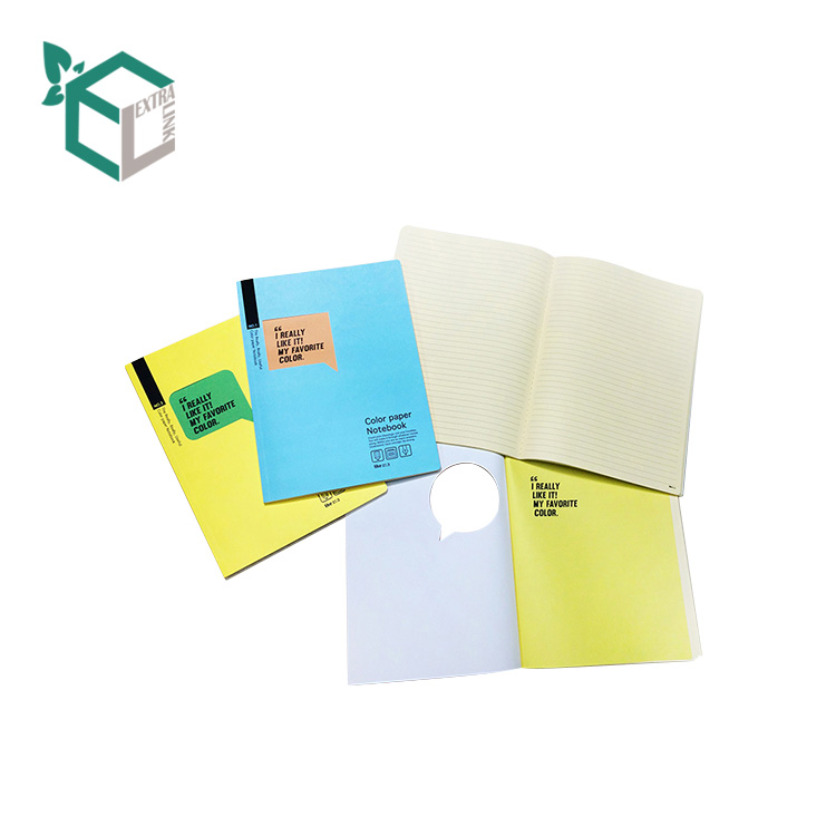 Wholesale Cheap Customized Logo Printing Colorful Student Notebook