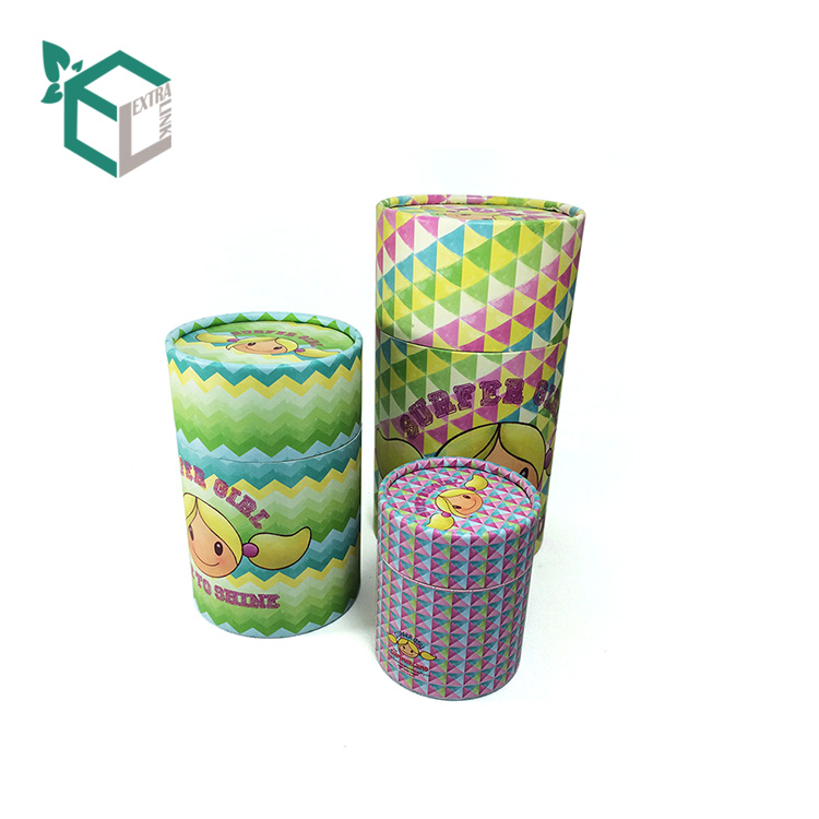 High Qualtiy Recycle Material Round Box with Printing