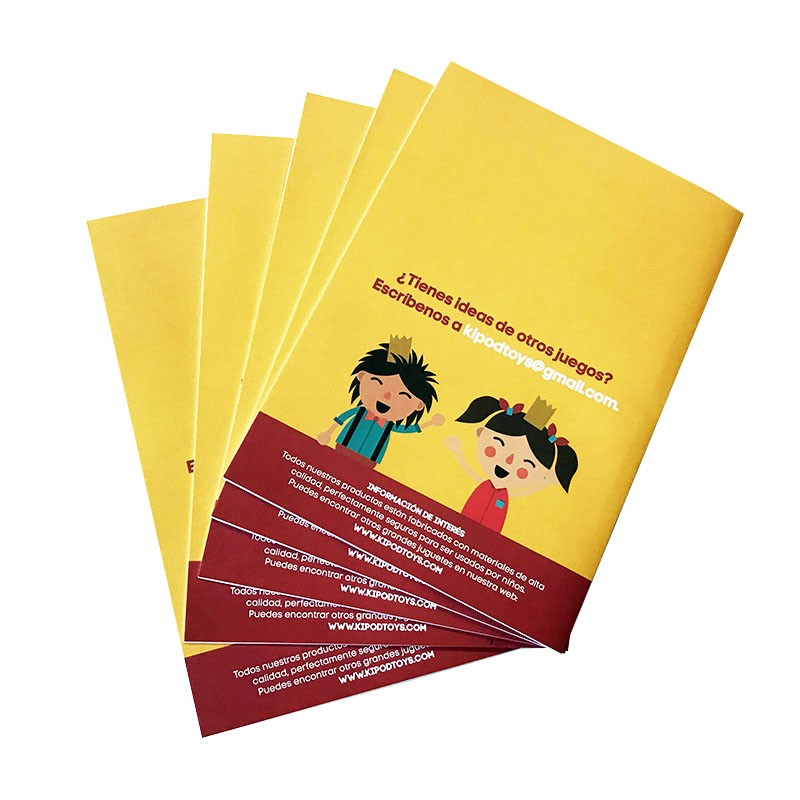 Custom Printed Soft Cover Workbook Booklet Book Catalogue Brochure Printing