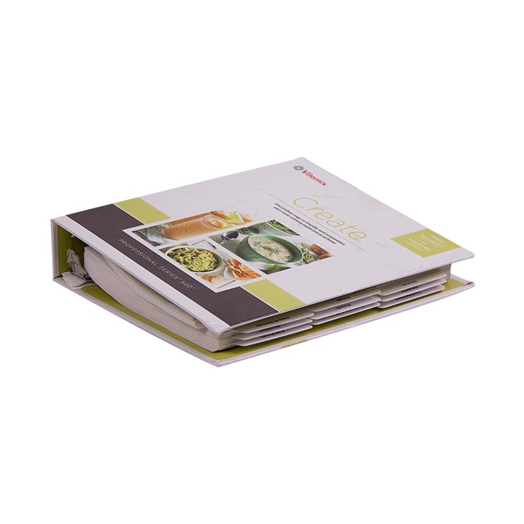 Custom Printing Bulk High Quality Hardcover Menu Catalogue Printing