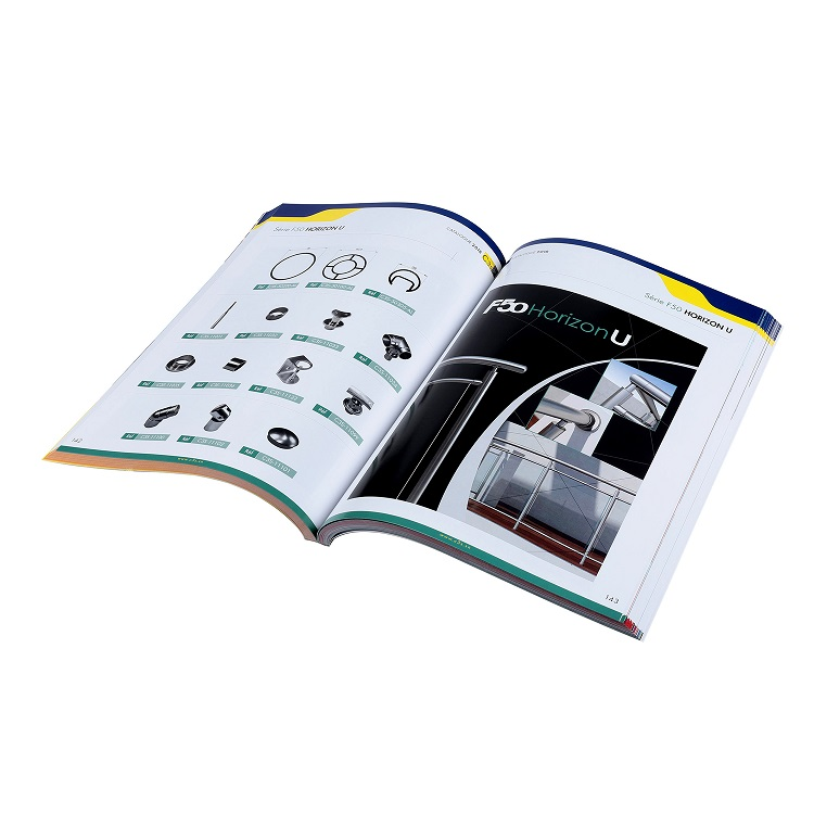 Perfect Binding Cheap Custom High Quality Catalog Printing