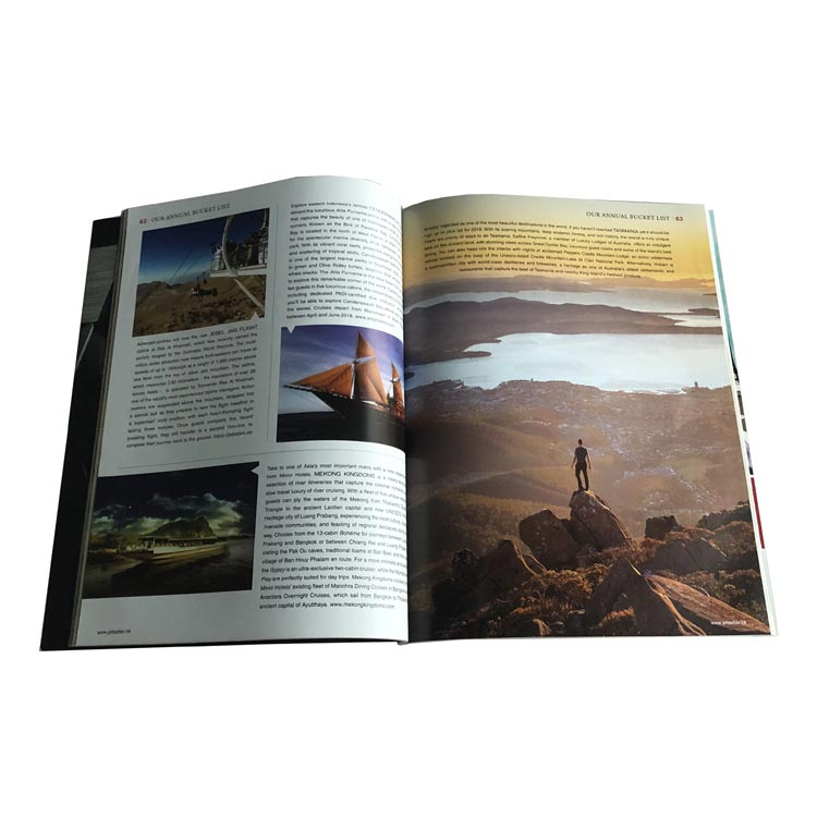 Oem/ Odm Service Magazine Book Printing With Low Price