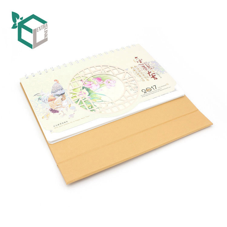 Fodable Custom Printing Christmas Calendar with Luxury Material