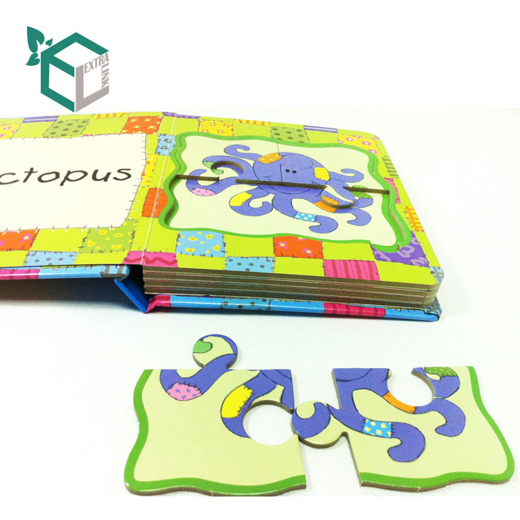 Custom Paper Board Preschool Printing English Book Children