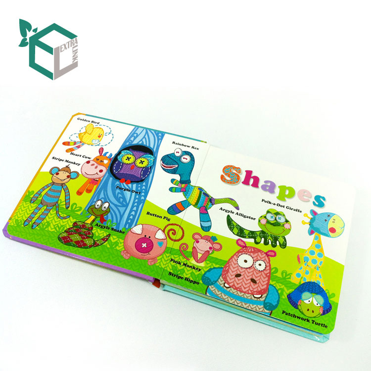 Cardboard Paper Type Hardcover Children Book Printing